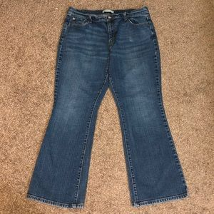 Levi's Strauss & Co 16 short blue boot cut jeans